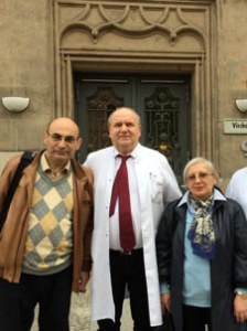 В Берлине с доктором Кристианом Виттом 2 мая 2016 г.